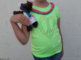 Foal and Me Outfit-Peace, Love, Fashion Foalz!