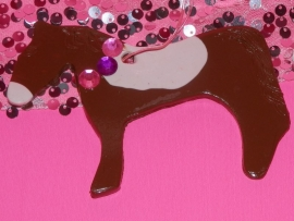 Jewel Clay Ornament Horse